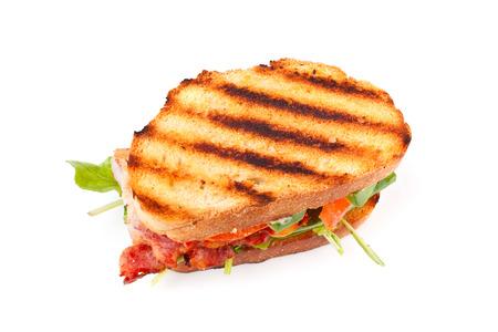 Speck, Salat und Tomaten BLT-Sandwich Standard-Bild - 31593482