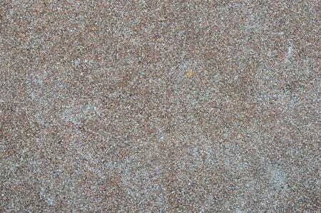 A brown gravel