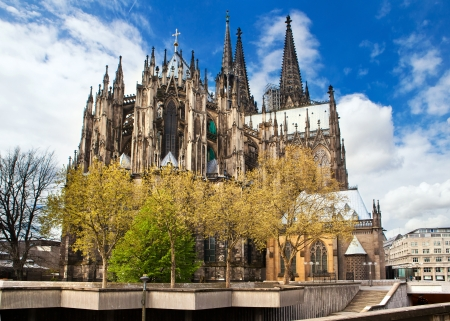 Cathedral of Cologne in Germany Stock Photo