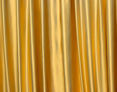 satiny: Background of golden satin fabric