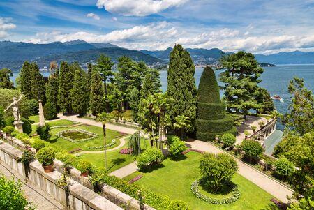 Isola Bella in Lago Maggiore, Italië Stockfoto