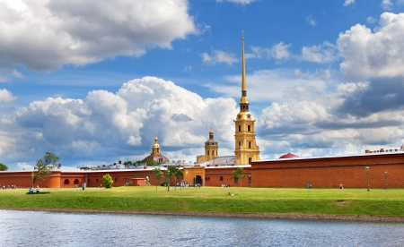 fortress: Peter and Paul Fortress, St Petersburg, Russia