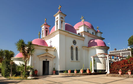 Orthodox Church on Galilee Sea, Israel