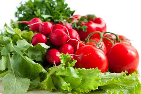 Fresh vegetables - good health photo