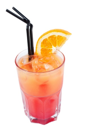 C�ctel con jugo de naranja. photo