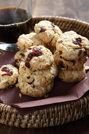 cofffee: Cookies with a cranberries and coffee