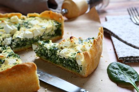 Piece of delicious pie, food 스톡 콘텐츠