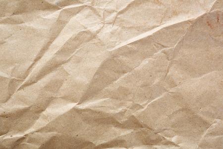 kraft: Crumpled kraft the paper, background