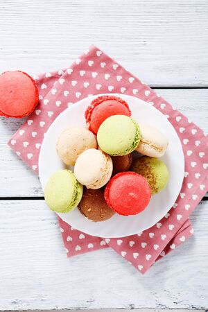 plate of food: Assorted cookies on a plate, food