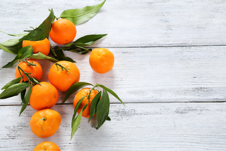 orange slice: fresh ripe tangerines