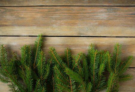 christmas backdrop: christmas natural backdrop, spruce Stock Photo