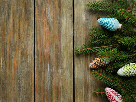 christmas backdrop: christmas backdrop with branch spruce, xmas