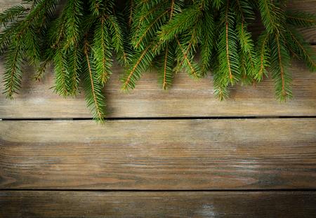 christmas backdrop: christmas natural wooden backdrop, spruce