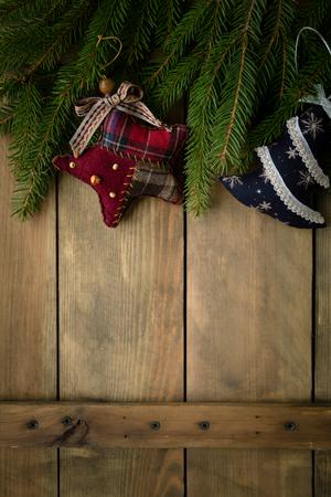christmas backdrop: rustic christmas backdrop, handmade decorations