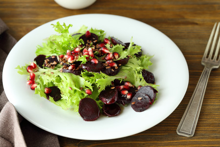 beets: salad with roasted beets