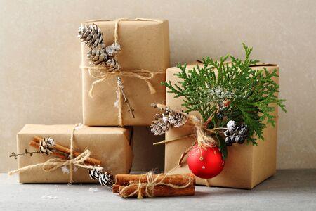 holidays: Decorated christmas boxes, holidays