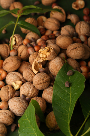 nuts mix closeup