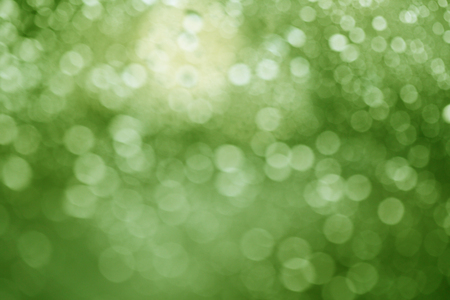 Green abstract spring background Stock Photo