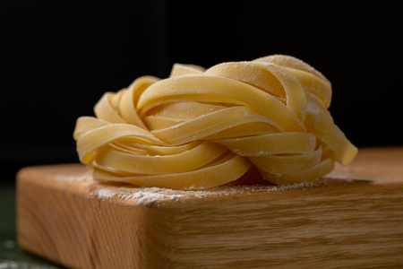 Traditional italian pasta close-up Stockfoto