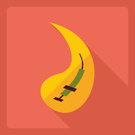 prick: Flat modern design with shadow  Icon prick