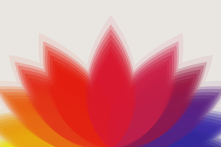 multicolored: background is multi-colored flower Illustration