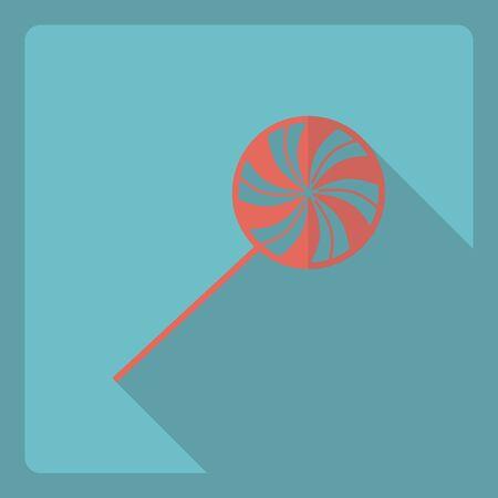 sugarplum: Flat modern design with shadow  Icon candy