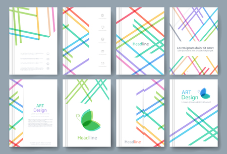 Vector brochure, flyer, magazine cover poster template. brochures, presentations, leaflet, a4 size.