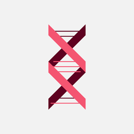 Thin line concept. DNA Icons set vector illustration. Polygonal DNA concept. DNA, genetic sign, elements and icons collection. Vector mesh spheres. Banco de Imagens - 102133377