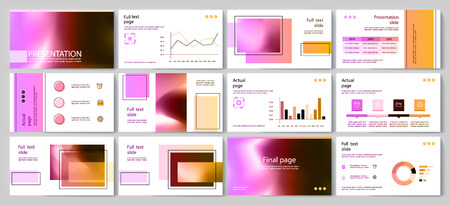 This template is the best as a business presentation, used in marketing and advertising, flyer and banner, the annual report Stock fotó - 124237993