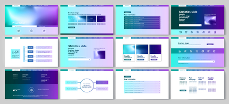 This template is the best as a business presentation, used in marketing and advertising, flyer and banner, the annual report Stock fotó - 124171278