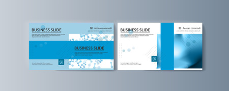 Set of brochures for marketing the promotion goods and services on market Çizim