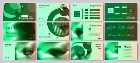 This template is the best as a business presentation, used in marketing and advertising, flyer and banner, the annual report Stock fotó - 122980198