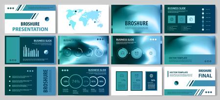 Diese Vorlage eignet sich am besten als Geschäftspräsentation, verwendet in Marketing und Werbung, Flyer und Banner, den Jahresbericht