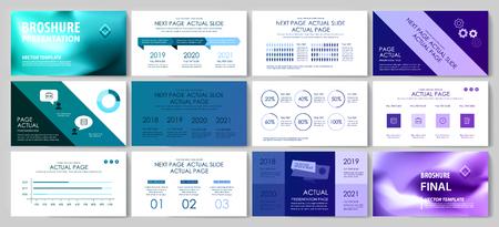 Diese Vorlage eignet sich am besten als Geschäftspräsentation, verwendet in Marketing und Werbung, Flyer und Banner, den Jahresbericht Vektorgrafik