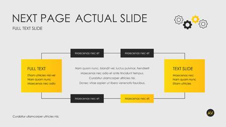 Couverture de brochure utilisée dans le marketing et la publicité. Illustration vectorielle Vecteurs