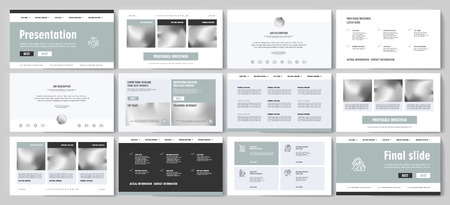 This template is the best as a business presentation, used in marketing and advertising, flyer and banner, the annual report Stock fotó - 123247514