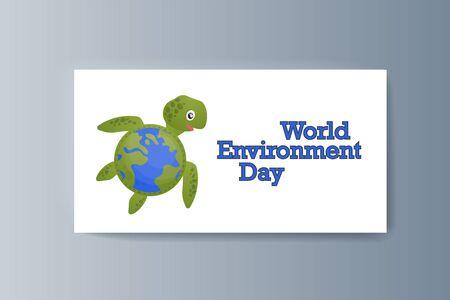 Business presentation brochure advertising the idea environmental protection. Vector illustration Stock Illustratie