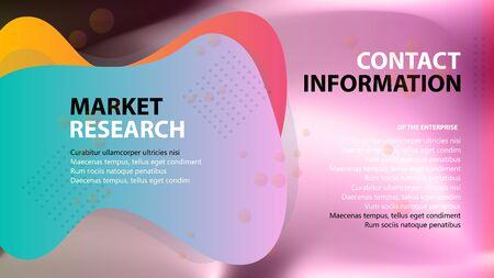 Couverture de brochure utilisée dans le marketing et la publicité