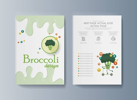 Set of brochures for marketing the promotion goods and services on market Vettoriali