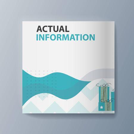 Presentation of the pet classification brochure. Vector illustration