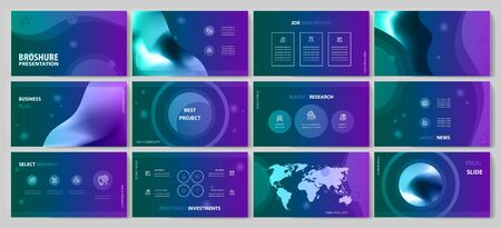 This template is the best as a business presentation, used in marketing and advertising, flyer and banner, the annual report