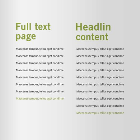 Brochure cover used in marketing and advertising. Vector illustration Reklamní fotografie - 133615458