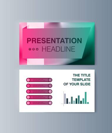 Set of brochures infographics for marketing the promotion goods and services on market. Vector illustration Reklamní fotografie - 133615148