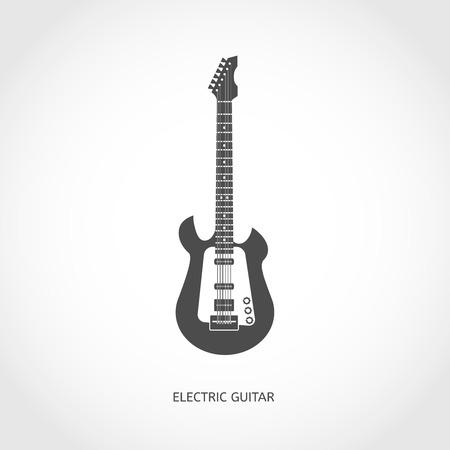 djembe: Musical modern instrument guitar flat vector flat icon
