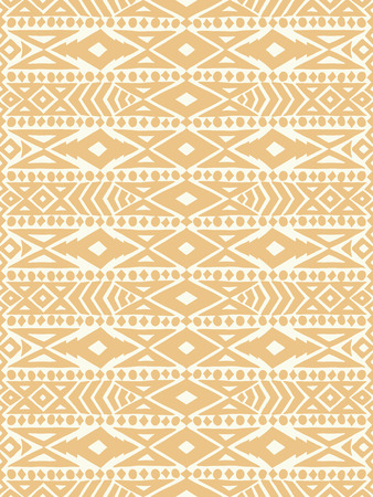 Tatto Aztec tribal mexican seamless pattern. Hipster boho chic background. Trendy layout. Art luxury print, backdrop, paper