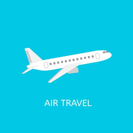 air freight: Air travel icon. Plane in the sky. Air freight concept