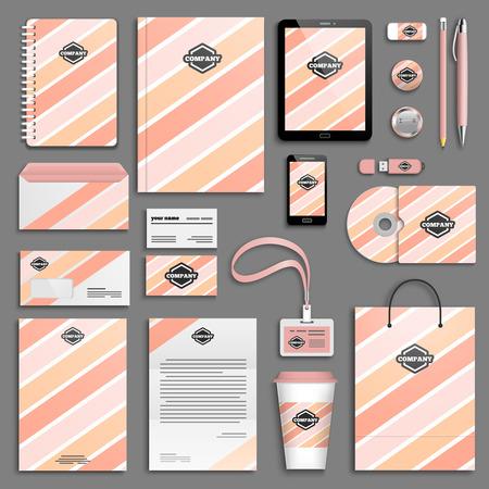 corporative: Corporate identity template set.