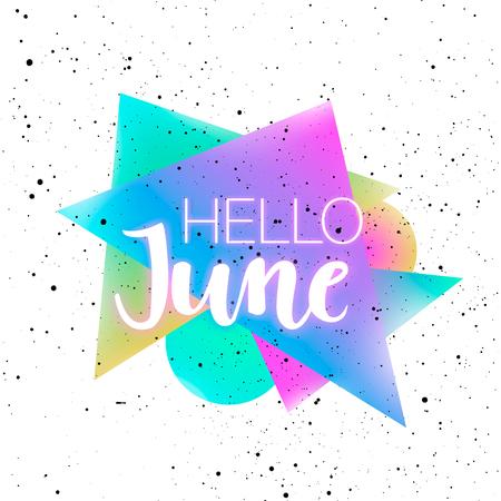 여름 멤피스 배경 스톡 콘텐츠 - 80037769