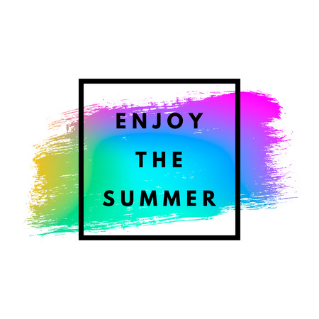 futurism: Summer memphis background Stock Photo