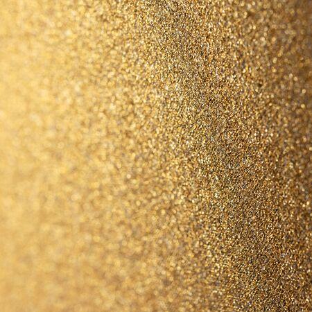 Fondo brillante brillo dorado. Navidad o año nuevo envoltorio textura de papel de vacaciones, formato cuadrado